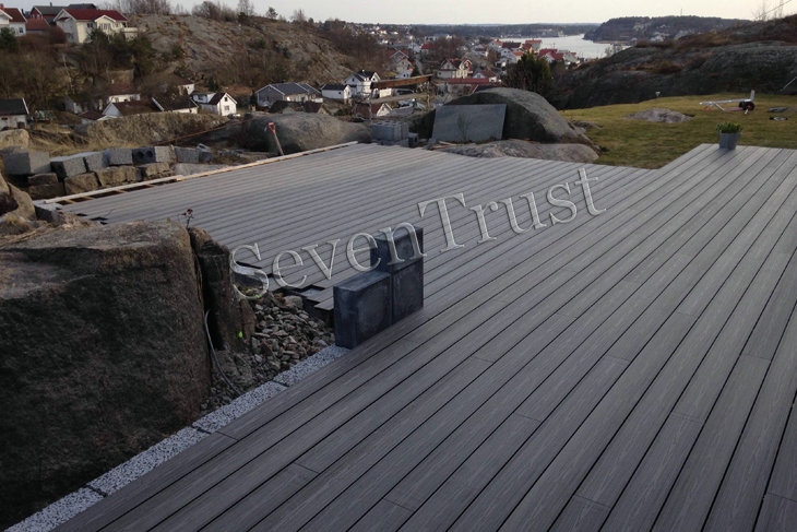 WPC Decking Project In Norway